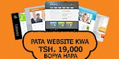 tanzania website design